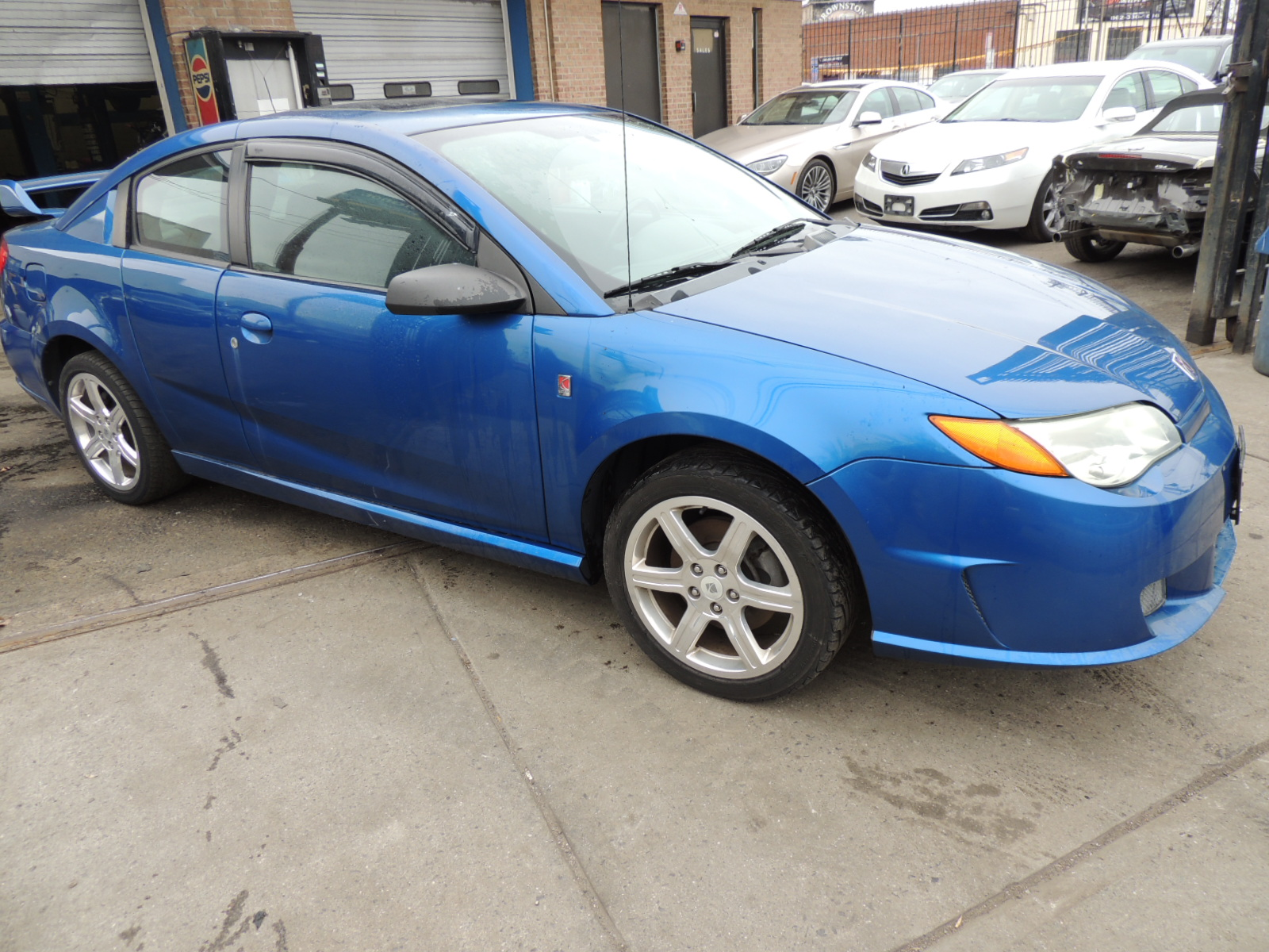 Salvage Rebuildable Repairables SATURN ION for Sale